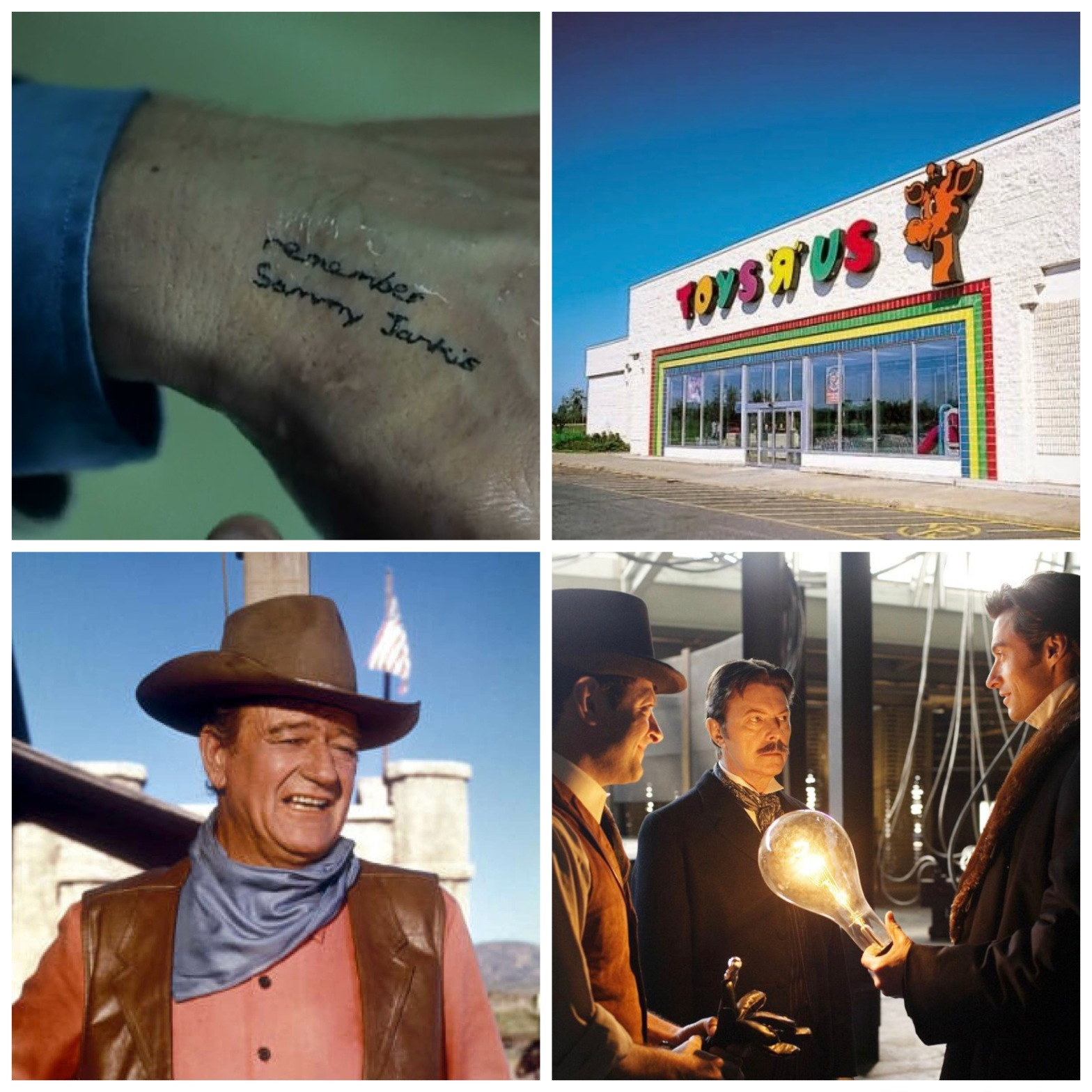 Memento's Remember Sammy Jankis. A vacant Toys R Us. John Wayne. Andy Serkis, David Bowie, and Hugh Jackman on the set of The Prestige. All of this will make sense when you listen to this week's episode.